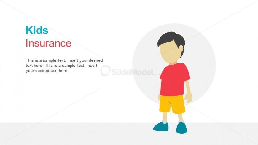 Graphics of Kid Standing