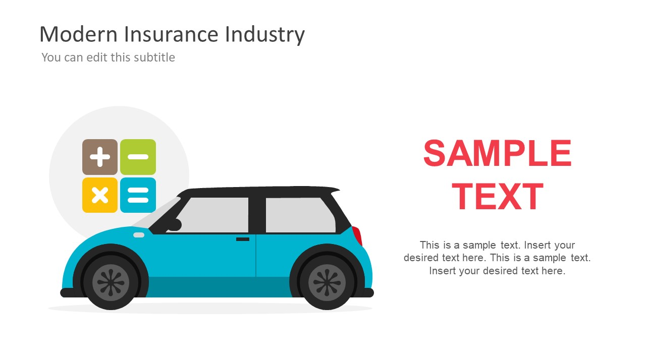 Modern Insurance Industry Powerpoint Template