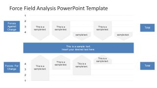 force field analysis diagram template - personal growth powerpoint template slidemodel