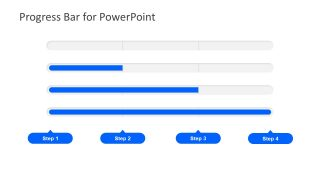 Progress Bar Design PowerPoint Diagram