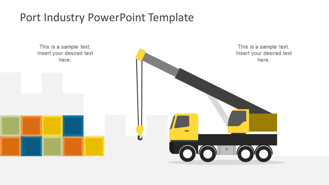 Port Industry Powerpoint Template Slidemodel