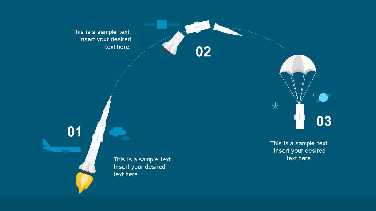 PPT 3 Steps Trajectory of Rocket Booster