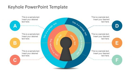 6 Step Circular Diagram PowerPoint Slide