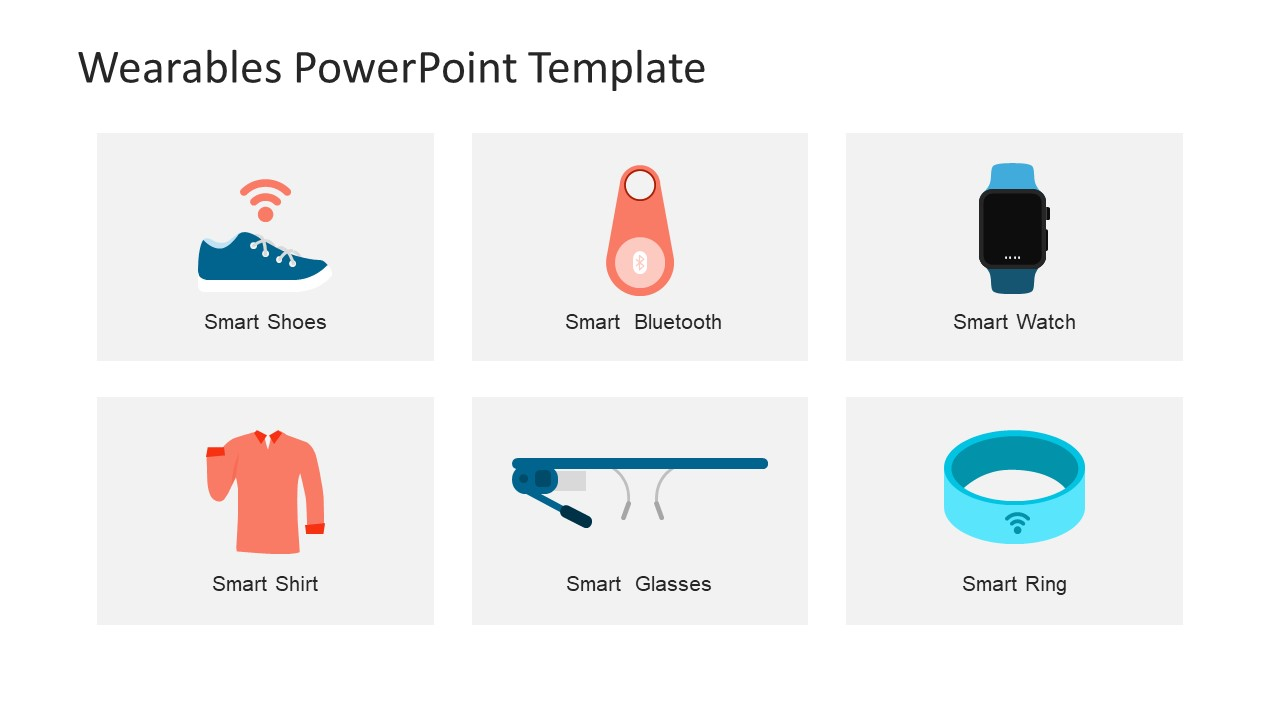 Clipart Shapes of PowerPoint Gadgets