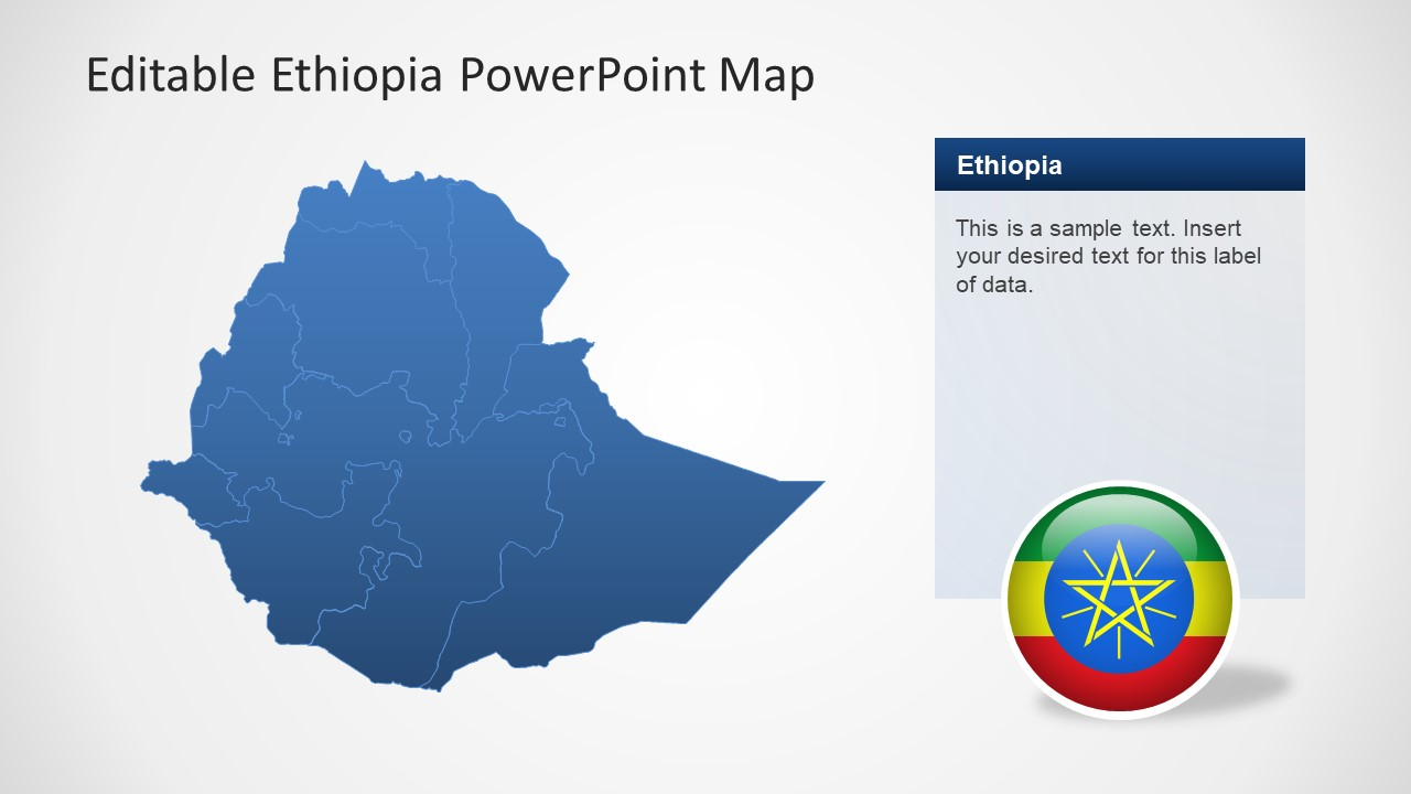 Editable Units of State as Ethiopia
