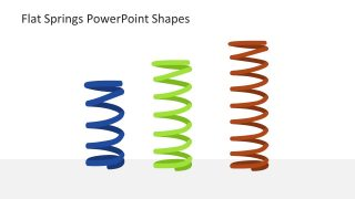 Springs PowerPoint Shapes