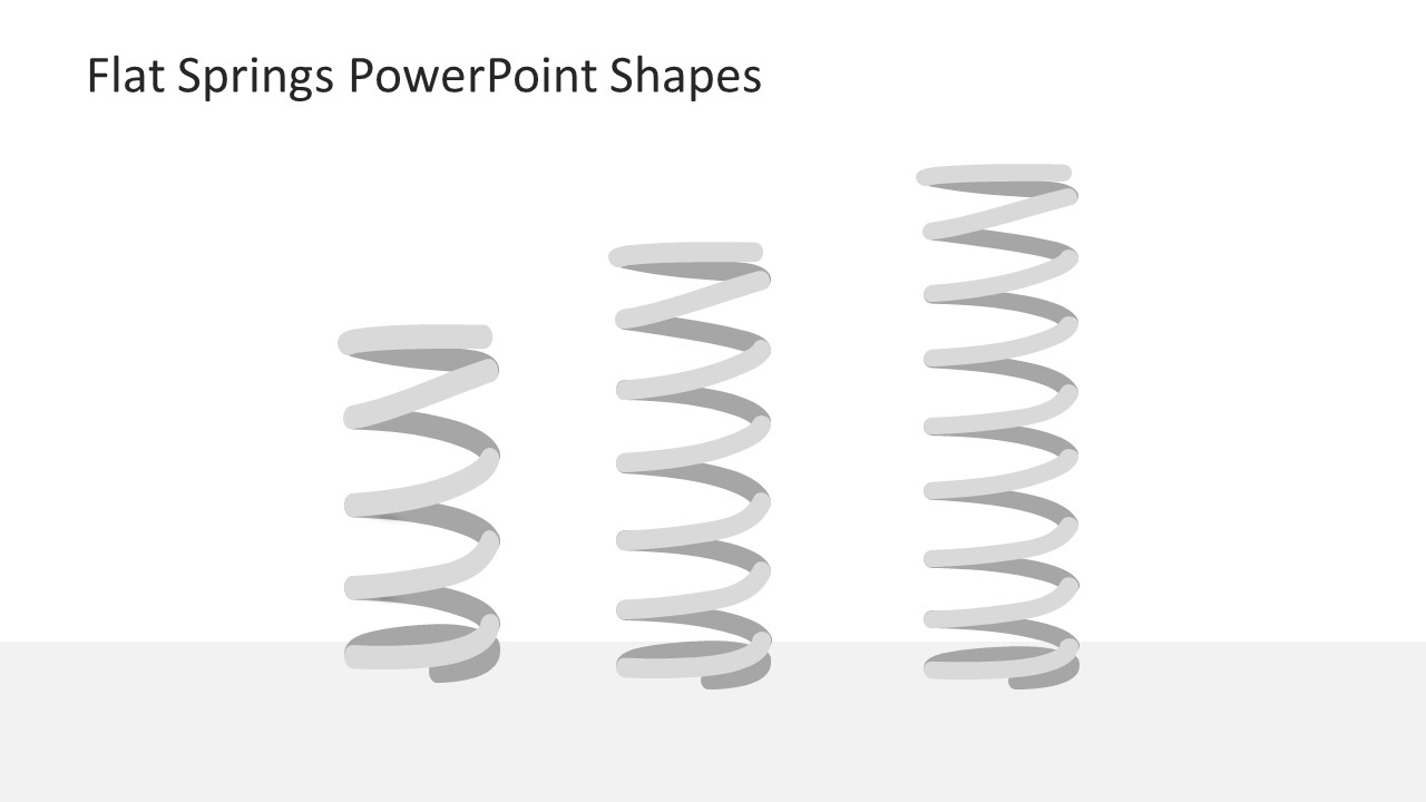 flat springs powerpoint shapes