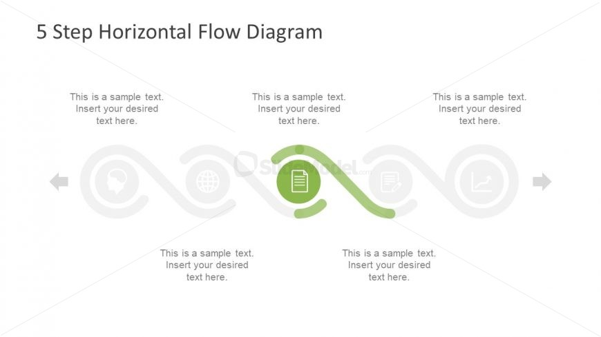 Reporting Design Template Horizontal Flow