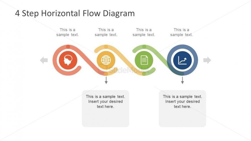Slide Design of Timeline Process Flow