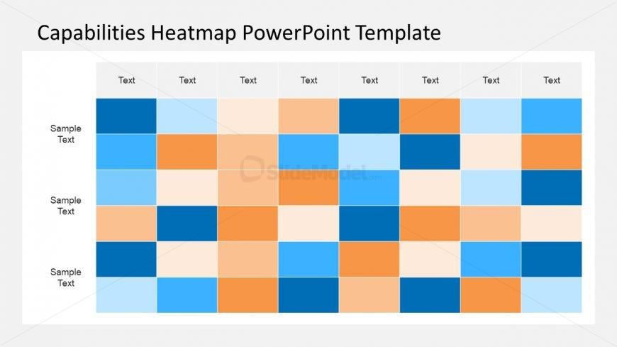 Capabilities Heatmap Data Table Powerpoint Slidemodel