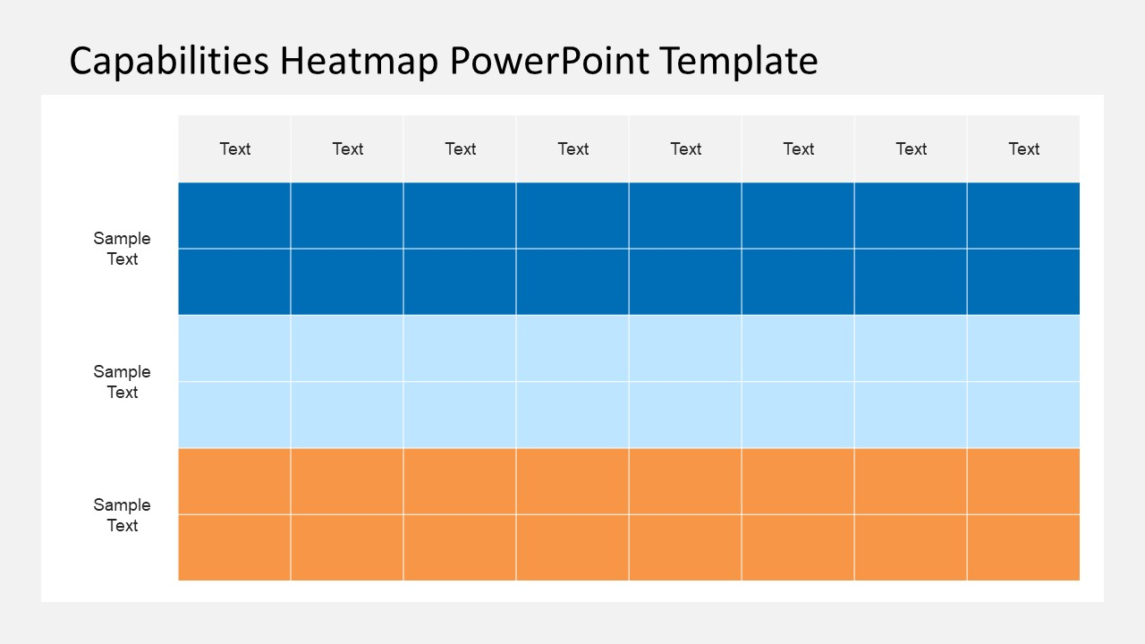 capabilities heatmap powerpoint template slidemodel