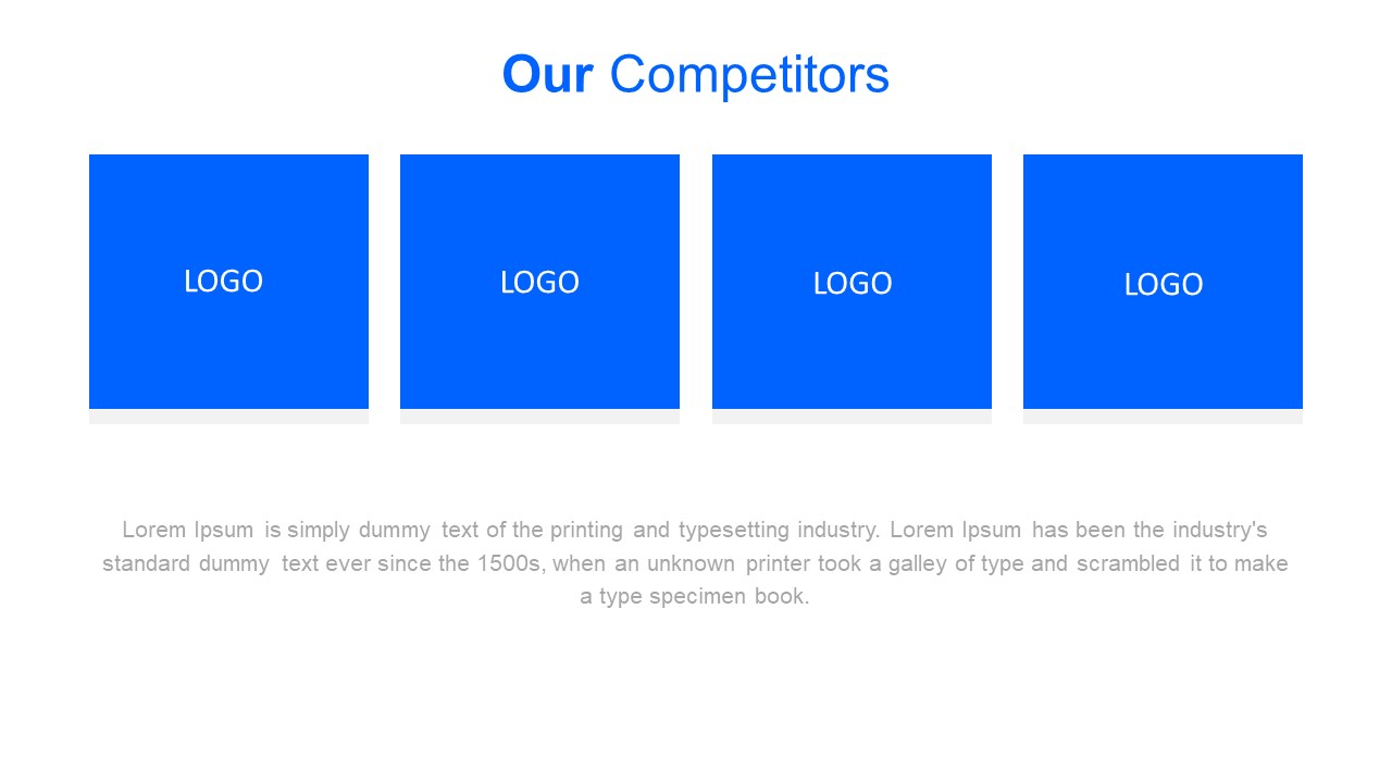 Template of Market Competition