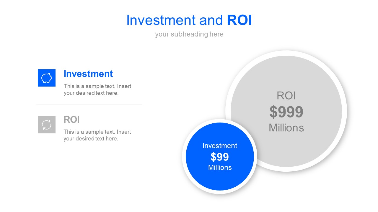 Investment and ROI Slide PowerPoint