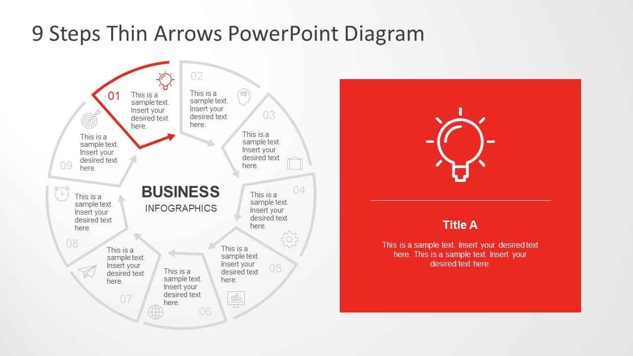 Lightbulb Infographic Icon Innovation Segment