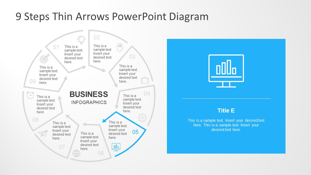 Business Analysis Segment Infographic Icons