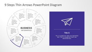 Infographic Icons Presentation of 9 Segments