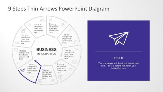 Editable PPT Business Infographic Diagram