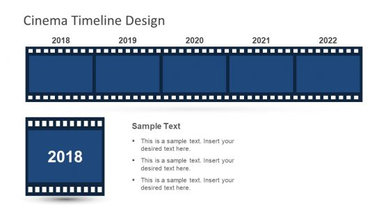 Editable Timeline and Planning PPT Cinema
