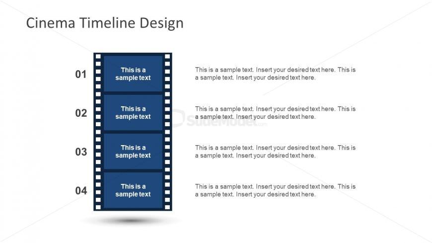 Vector Flat Design Cinema PPT