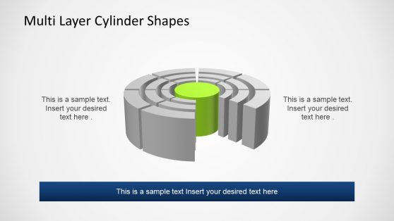 Multi Layer Cylinder Shape Template