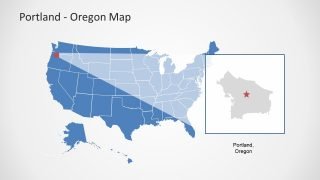 Oregon Highlight View Map Slide