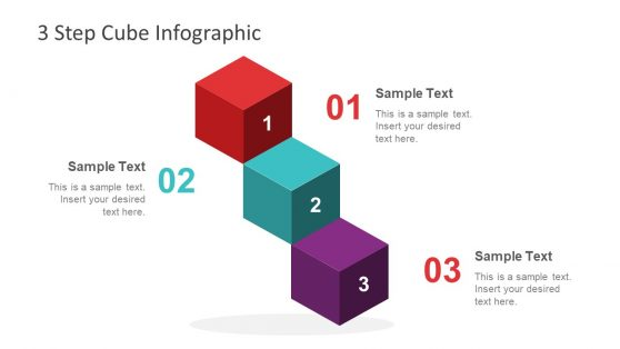 3 Steps Infographic PowerPoint Diagram