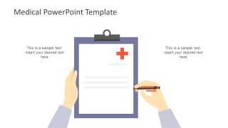 Medical Aid Symbol and Report Writing