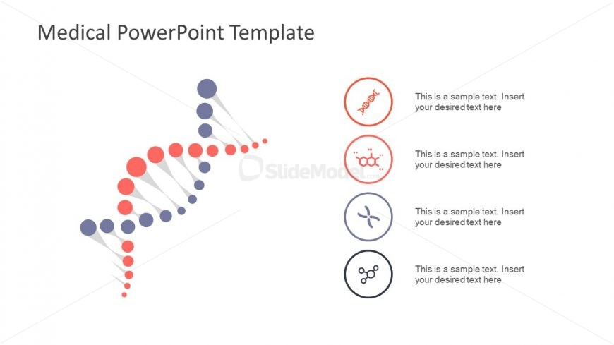 Infographic PowerPoint of DNA Shapes