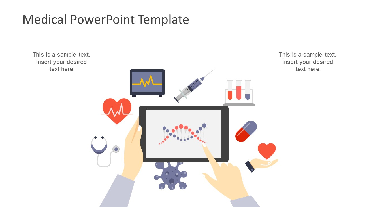 Editable Shapes of PowerPoint for Medical Industry
