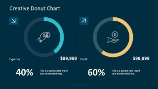 Doughnut Chart Slide Template