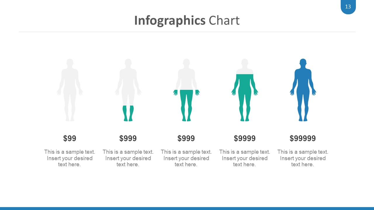 Infographic PPT Medical Cliparts