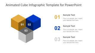 Animated Cube Infographic PowerPoint Template