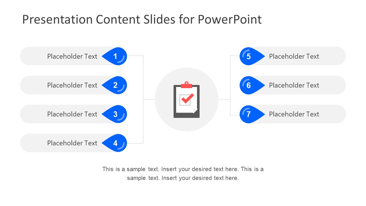 Project Demonstration Slide of Content