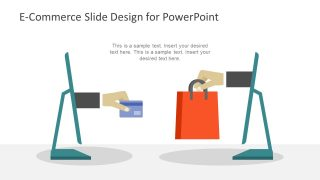 E-Commerce Scene PowerPoint Templates