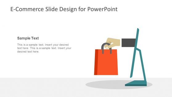 Template of E-Commerce Slide Design
