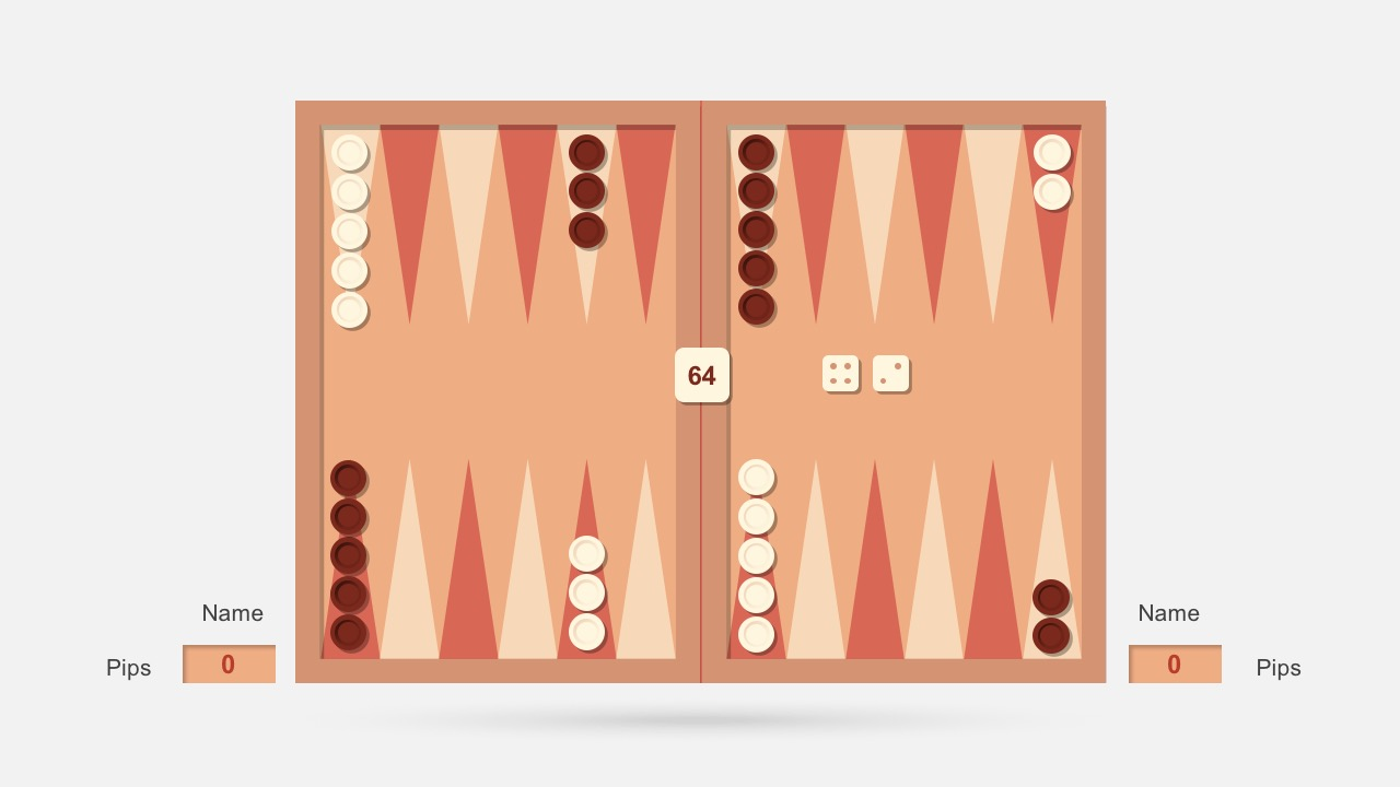 Backgammon Layout