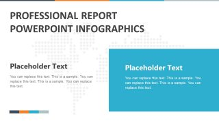 Professional Report Infographics PowerPoint Template