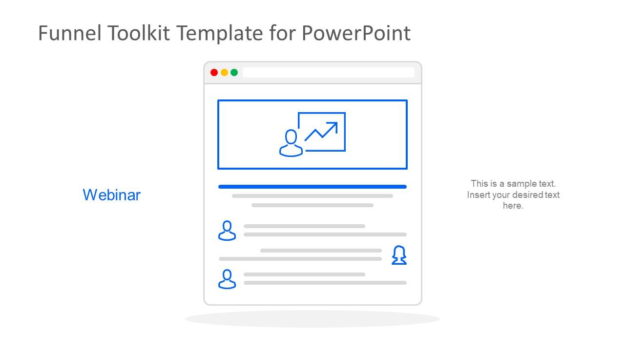 Webinar Template PowerPoint Shape