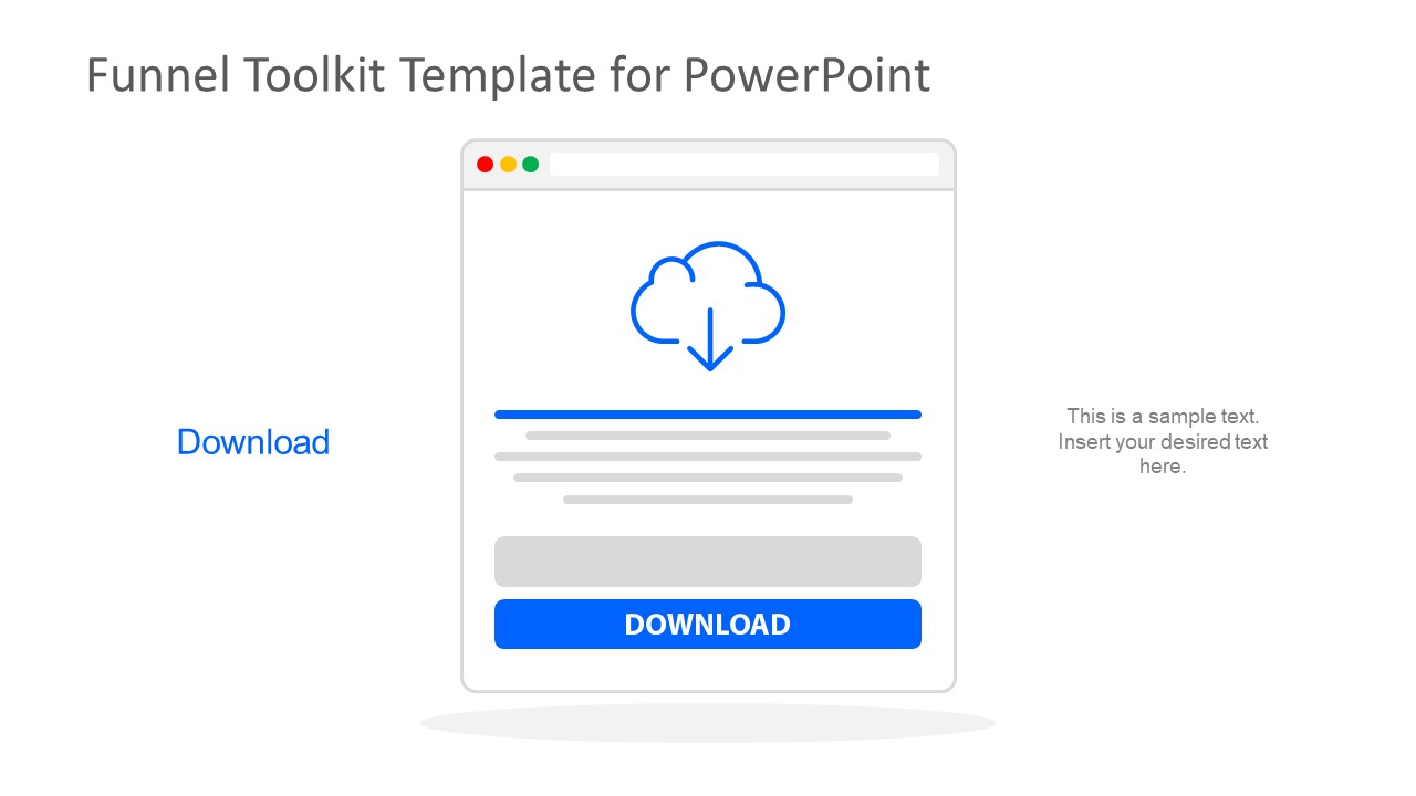 Cloud Download PowerPoint Document
