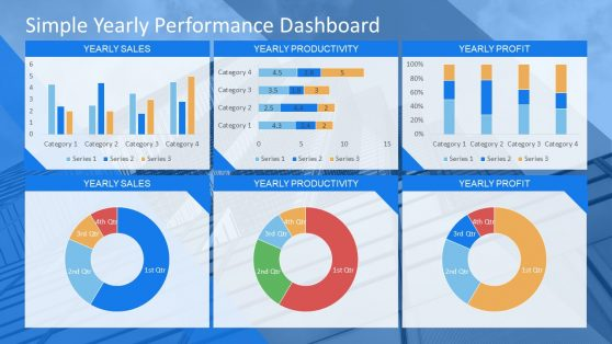 PPT Data Drive Dashboard KPIs