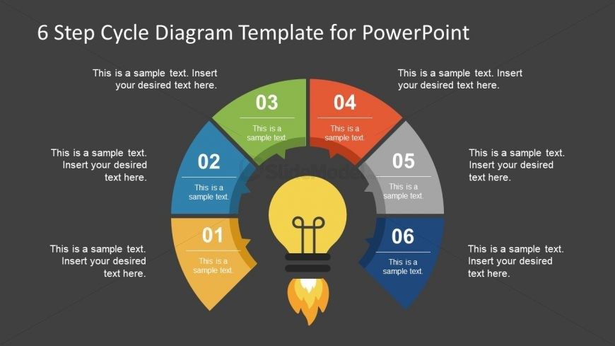 Editable PowerPoint Diagram Cycle
