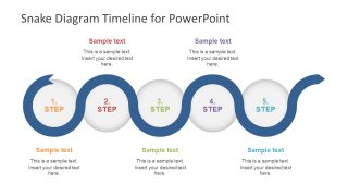 Editable 5 Segments Timeline