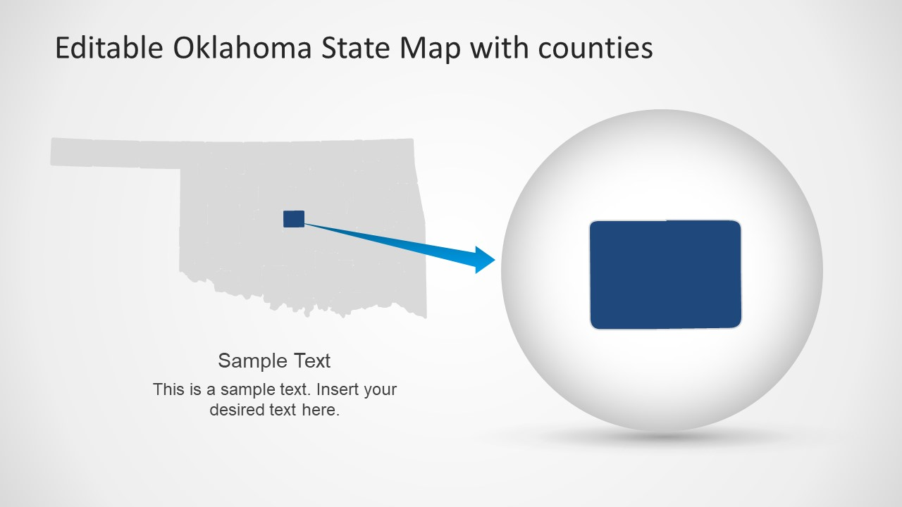 Template of County in Oklahoma