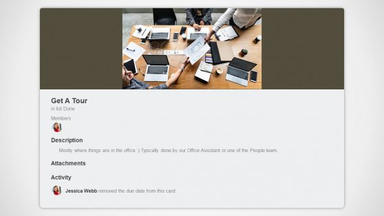 Virtual Tour of Company Presentation