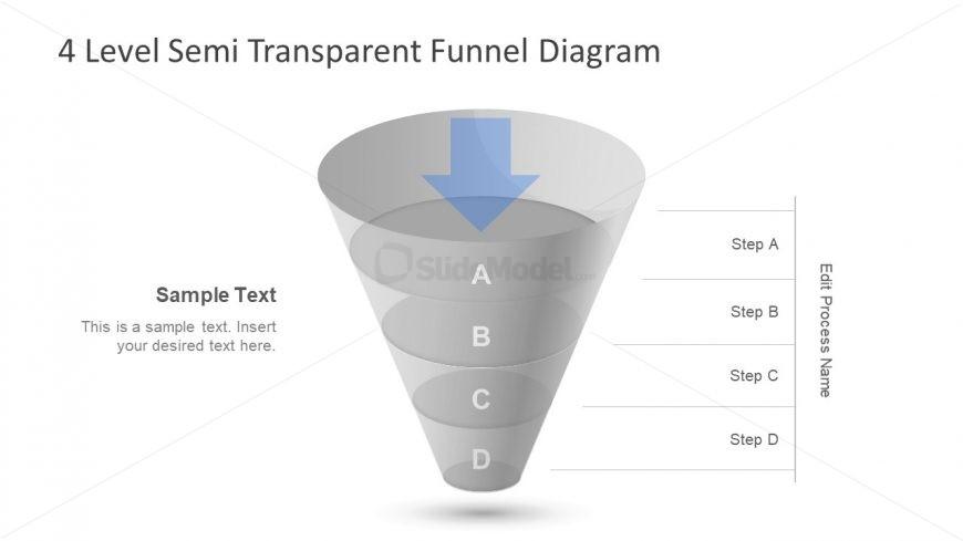 Semi Transparent Slide Template