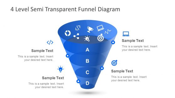 Data Presentation in Vertical Funnel