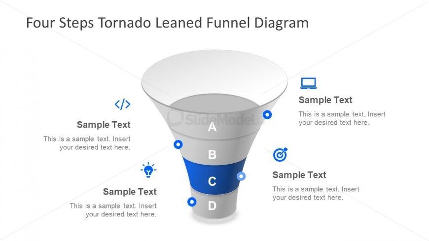 Infogrpahic PowerPoint Funnel Diagram