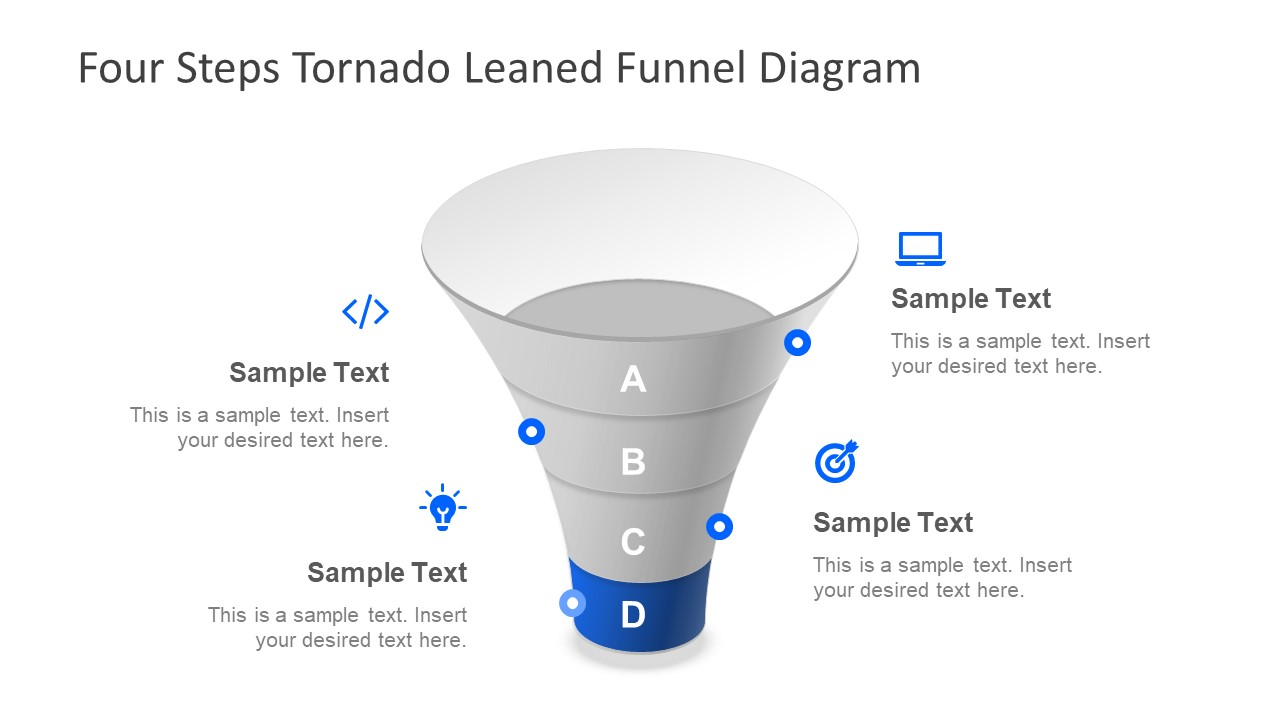 Clipart PowerPoint Funnel Diagram