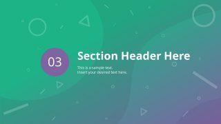 Layout for Separator Slide