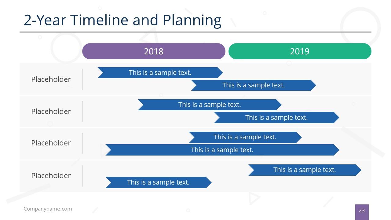 Timeline PowerPoint Slide Deck